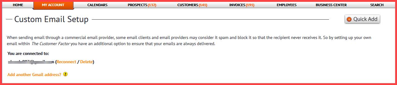 custom email 5